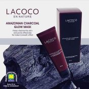 CMASK - LACOCO AMAZON CHARCOAL - www.herb.co.id