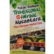 Buku 01 - Kitab Ramuan Tradisional dan Herbal Nusantara Plus Ramuan Herbal Cina - Hamid Prasetya Subagja Cover - Herb.co.id