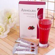 Harga Diskon 01 - Armoura Slim & Beauty Drink (Pelangsing, Mengencangkan dan Menghaluskan Kulit) - Herb.co.id