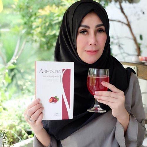 Mama Ami Minum Armoura Slim & Beauty Drink (Pelangsing dan Mengencangkan Kulit) - Herb.co.id