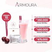 Promo dan Diskon Armoura Ultra Cream - Rendah Gula (Pelangsing dan Pemutih Kulit) - Herb.co.id