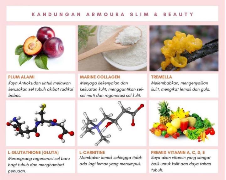 Kandungan Armoura Slim Beauty