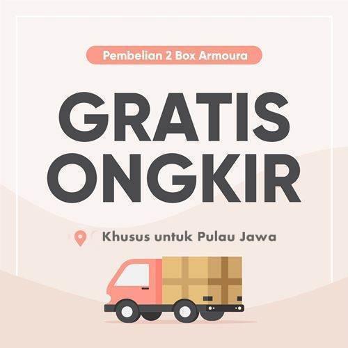 Promo Gratis Ongkos Kirim di Pulau Jawa, Indonesia - Armoura Slim & Beauty - Herb.co.id